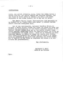 Salvador González, carta de LMM, 1ro feb 54, pág. 2