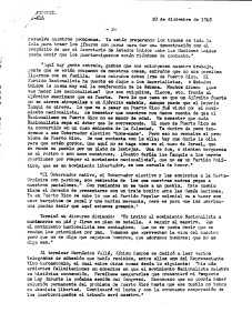 Documento confidencial, Policía, 20 dic 48 Partido Nacionalista, Asamblea Ateneo, 19 dic 48, pág. 2